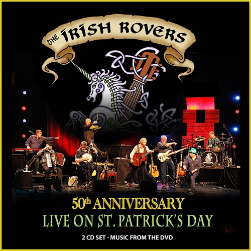 The Irish Rovers album cover - Live on St. Patricks Day