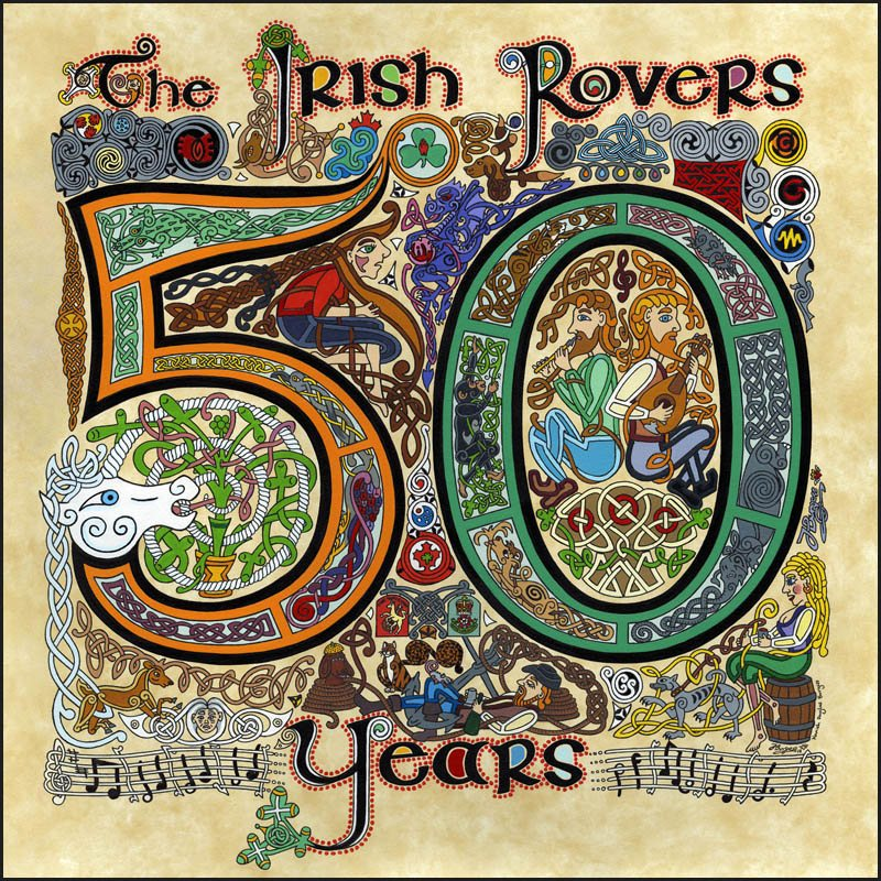 The Irish Rovers album cover - 50 Years