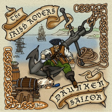 The Irish Rovers album cover - Drunken Sailor