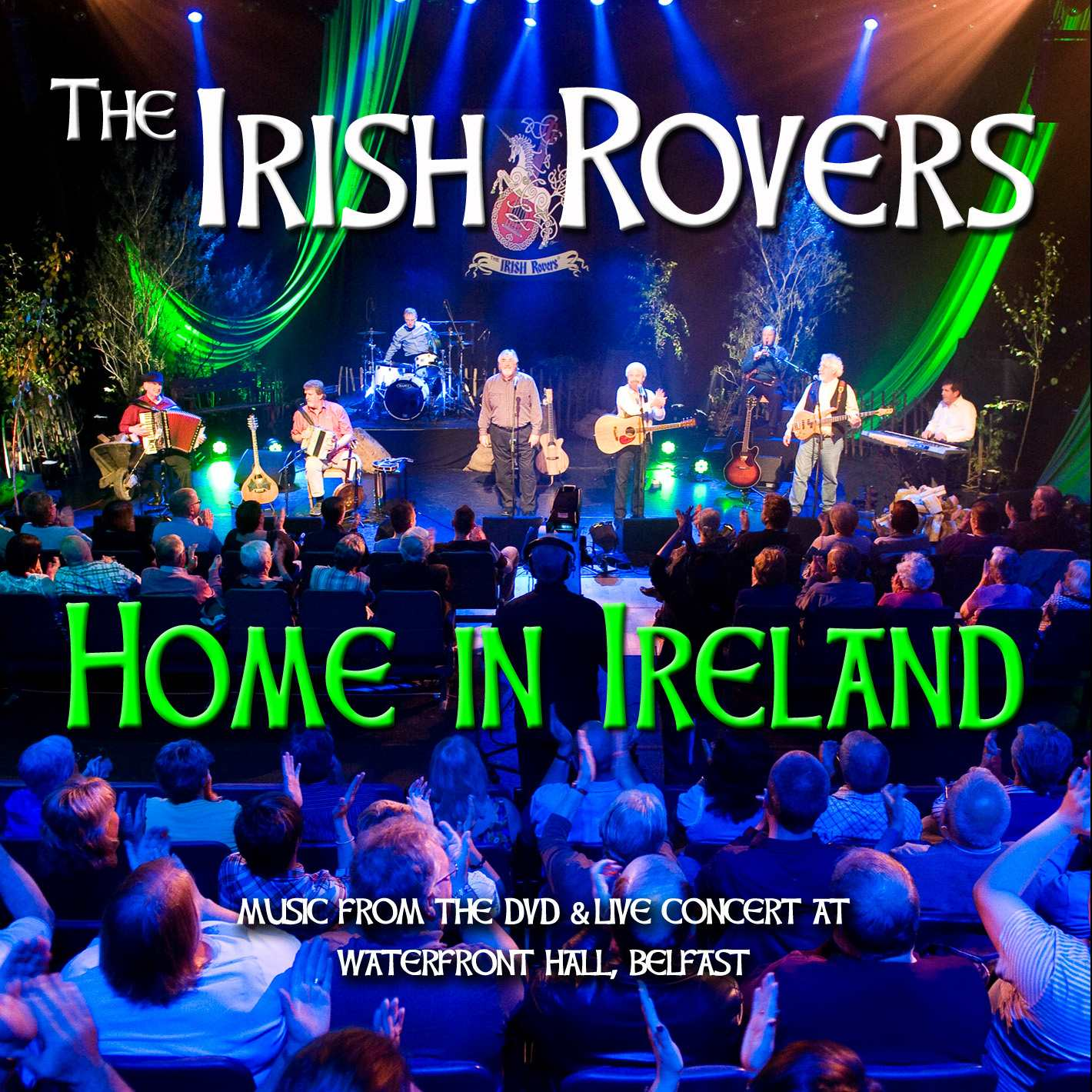 The Irish Rovers album cover - Home in Ireland