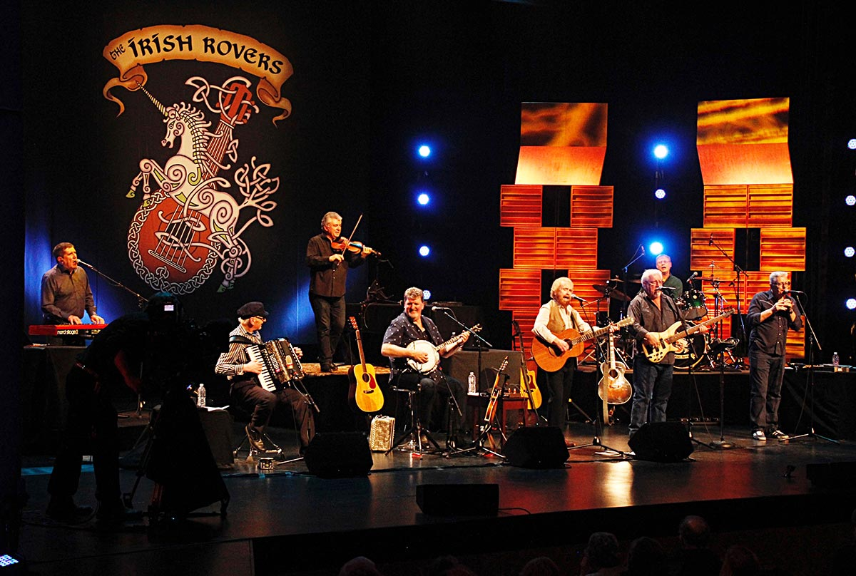 The Irish Rovers in concert