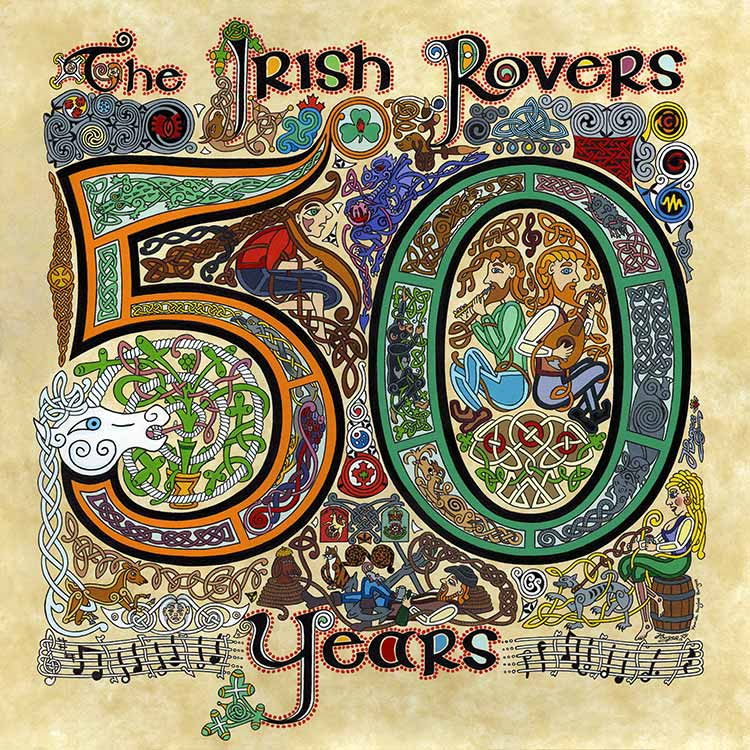 Irish Rovers - 50 Years album cover