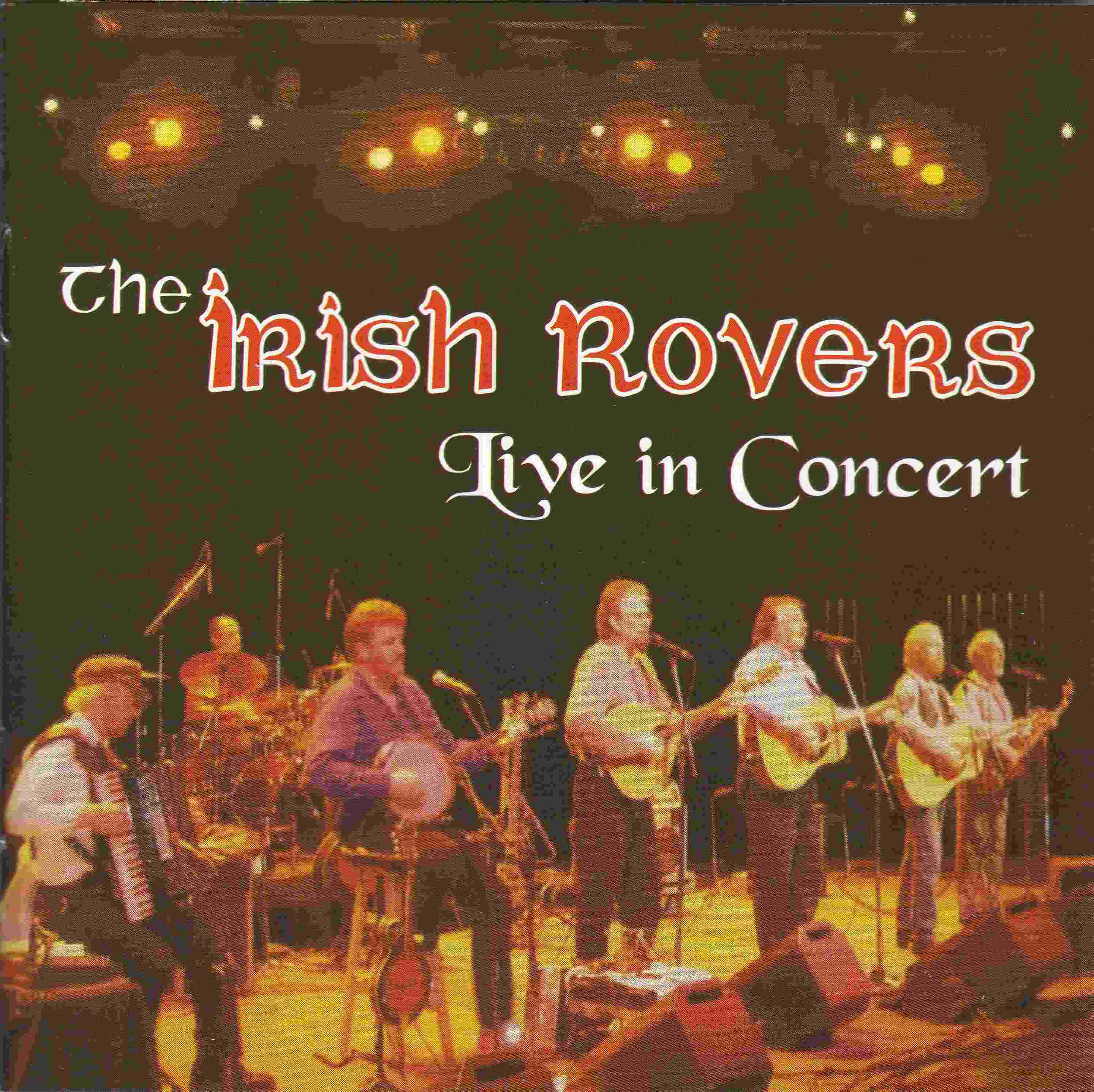 The Irish Rovers album cover - Live in Concert