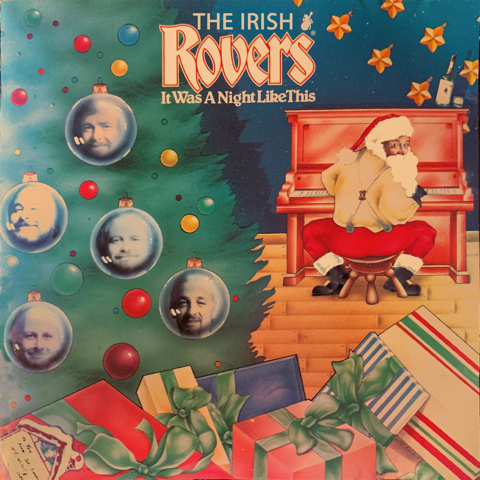 The Irish Rovers album cover - Celtic Collection